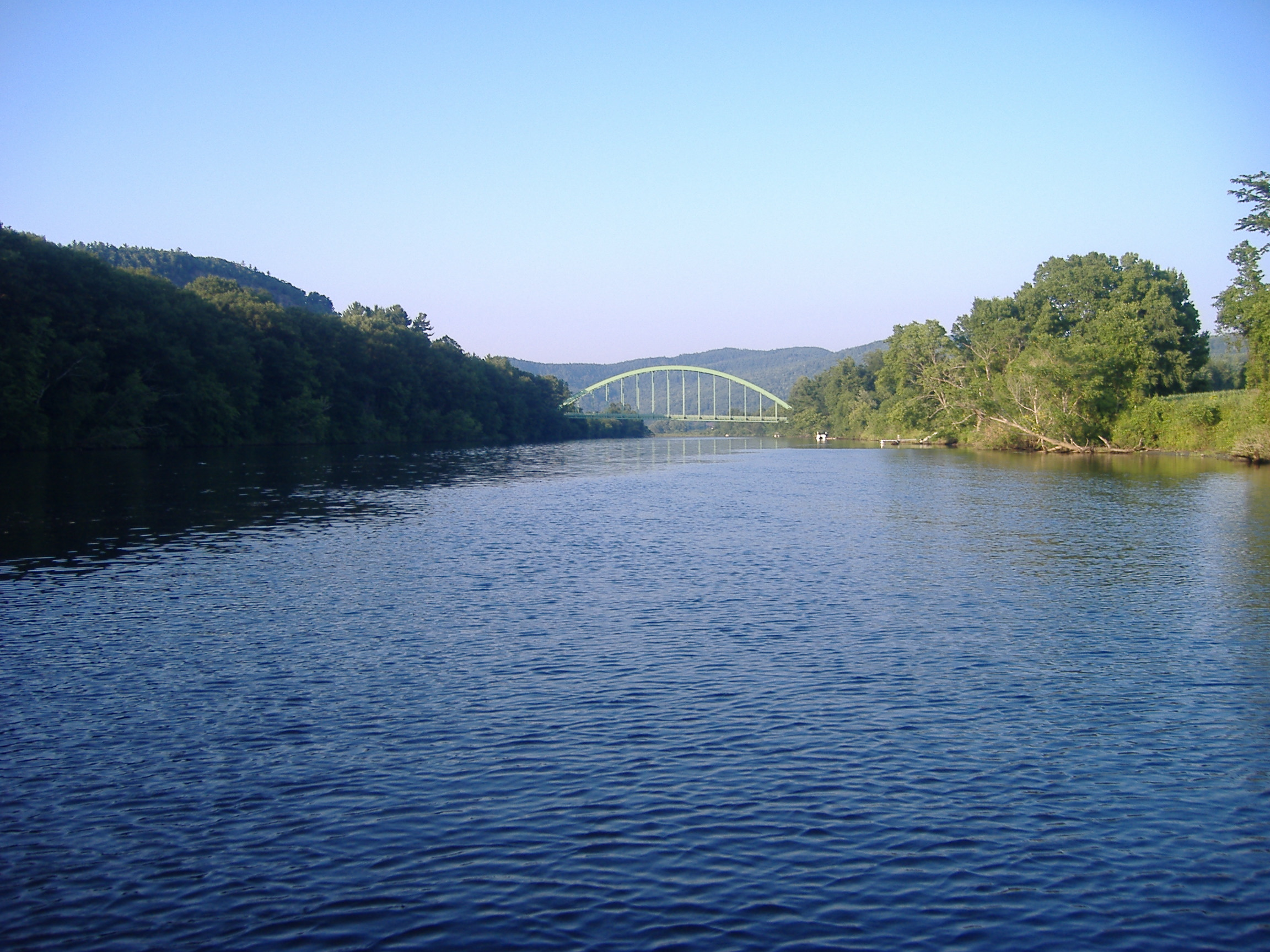The Connecticut River is the longest river in New England. Flowing